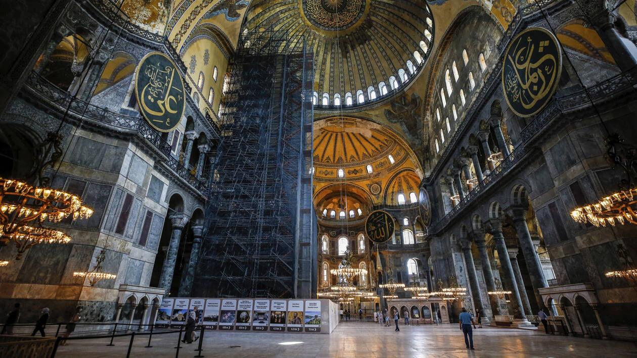 UNESCO: Μνημείο Παγκόσμιας Πολιτιστικής Κληρονομιάς η Αγία Σοφία ...